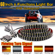 """60"""" 3Row 432 LED Tailgate Light Reverse Brake Consequential Turn Signal Tail Bar"""