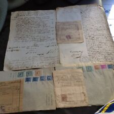 DOCUMENTI ANTICHI E BOLLI 1864