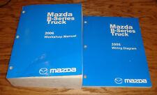 Original 2006 Mazda B-Series Truck Shop Service Manual + Wiring Diagram Set 06