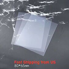 Clear Plastic Film for Resin Shakers - 3 Sheets, 8*6.5 cm each