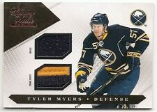 10/11 LUXURY SUITE GAME JERSEY/PRIME JERSEY #10 Tyler Myers #69/150 2CLR