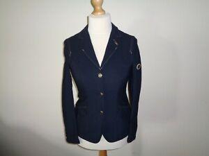 Pikeur Gloria Competition Show Jacket ladies navy blue size 38 UK 10