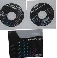 Original ASUS hd6870 ATI Drivers CD DVD v947 Driver Manual Graphics Win 7