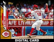 Topps BUNT Luis Castillo GOLD PHYSICAL SERIES BASE 2020 [DIGITAL CARD]