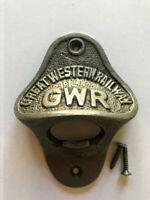 Fantastic Cast Iron GWR Great Western Railway Bottle Opener ~ Pub ~ Bar ~ Decor