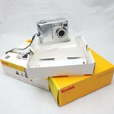 Kodak EASYSHARE C330 4.0MP Digital Camera - Silver - Great - Boxed.