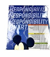 3 Lots of Disney Mickey Mouse Responsibility Chart with Dry Erase Marker