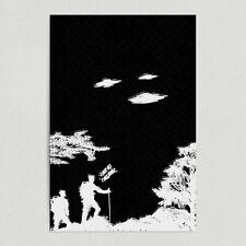 ArtPrintJoy I Believe UFO Art Print Poster 12″ x 18″ Wall Art ST1010