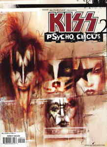 Todd Mcfarlane Presents: Kiss Psycho Circus #2 FN; Image | save on shipping - de