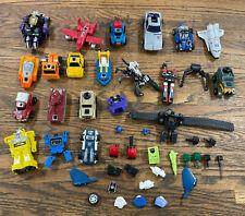 Transformers g1 vintage lot Micro Cassettes Quartz Watch Robotime Mini Warpath