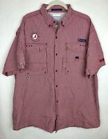Columbia PFG Super BoneHead Men's XL Alabama Crimson Tide Bama