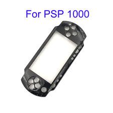 Placa de cara frontal Negro Frontal Estuche Rígido Cubierta Para Sony Psp 1000 1001 Fat