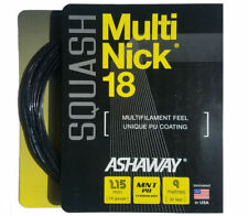 1 x Packaged Set Ashaway Multinick 18 Squash Racket String