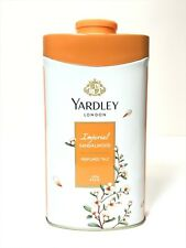 New Yardley London Perfumed Talc Imperial Sandalwood Talcum Powder 8.8 Oz 250 G