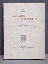 GUILLAUMIN (Émile). Tableaux champêtres. 1931 - Bourbonnais - monde paysan