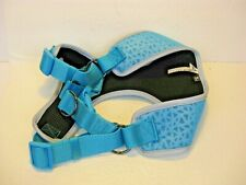 Top Paw teal gray black Dog Pet Comfort Harness XL for big head dogs animal New