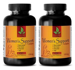 female hormones pills - WOMEN'S SUPPORT COMPLEX - estrogen pills - 2 Bot