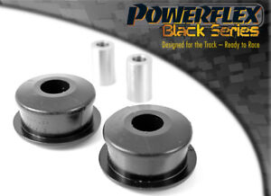 PFF85-410BLK Powerflex Front Wishbone Rear Bushes BLACK Series (2 in Box)