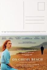 ON CHESIL BEACH MOVIE FILM POSTCARDS X 2 - SAOIRSE RONAN