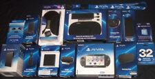 (NEW)  Sony PlayStation Vita  (PS-Vita)  Bundle with Factory Sealed Accessories