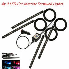 36 LED Car Interior Footwell Atmosphere RGB Phone App Control Smart Music Lights