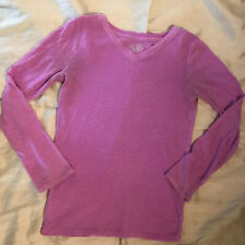 Justice Lavender Long Sleeve Top - Girls Size 8 - Very Pretty