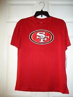 NFL Youth San Francisco 49ers T-Shirt, Size Large 14/16, New w/Tags