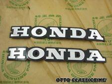 Honda Super Sport CB550 CB550 K CB650  CB750 F Fuel Gas Tank Emblem Badge Chrome