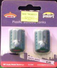 BACHMANN 44500 Set 2 contenitori per immondizia scala 1/87