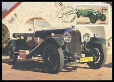 VENDA MK 1986 voitures cars BENTLEY 1929 CARTE MAXIMUM CARTE MAXIMUM CARD MC cm cr67