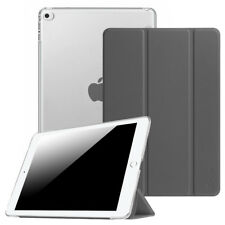 For New iPad mini 5 4 3 2 1 Slim Shell Case Translucent Frosted Back Stand Cover
