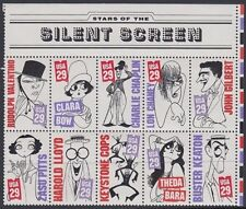 US 1994 SILENT SCREEN STARS MINT (x10) (ID:265/D43321)