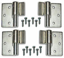 Steel Gate Hinge Weld On Heavy Duty Ball Bearing Hinges with Screws Left & Right