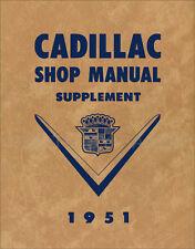 1951 Cadillac Reparación Manual Taller Deville Serie 61 62 60 Special Fleetwood