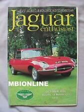 Jaguar Enthusiast magazine October 1998 Vol.14 , No.10