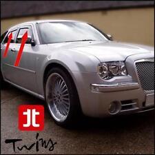 4 Déflecteurs de vent pluie air teintées Chrysler 300C 05-10 berline + touring