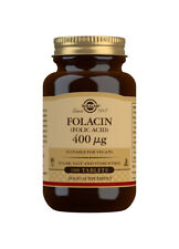 Solgar Folacin (Folic Acid) 400 µg - 100 Tablets