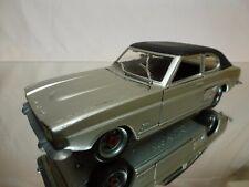 NACORAL FORD CAPRI 2600 GT - SILVER + BLACK 1:25 - GOOD CONDITION