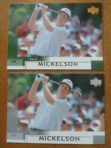 02 Mickelson 2 Rookies One Silver