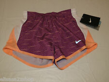 Nike Dri Fit Stay Cool girls running shorts fitness 6 362778-p76 bold berry*^
