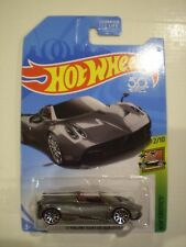 HOT WHEELS 2018 HW Exotics *PAGANI HUAYRA ROADSTER* metallic dark gray
