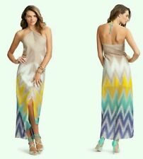 Guess by Marciano %100 Silk Trippy Maxi Dress