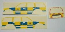 No 161 FORD EXPLORER  (1997) POLICE CAR, 1:43, CODE 3, Waterslide decals