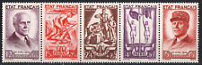 TIMBRES FRANCE ANNÉE 1943 La Bande n°580A  NEUF*