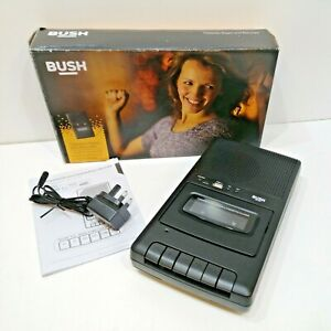 Bush Cassette Player and Recorder - Black CRS132 USB boxed