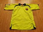 Mens Nike REPLICA Barcelona LARSSON #7 Away football shirt 2005 - 2006 Size M
