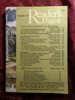 Readers Digest November 1977 James Lipton Irwin Ross Tip ONeill The Wizard of Oz