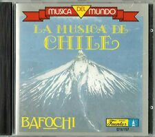 Musica Del Mundo La Musica De Chile Latin Music CD New