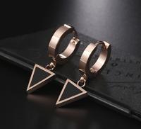 18k Gold Ohrringe vergoldet Creolen Ohrstecker edel für Frauen Damen Edelstahl A