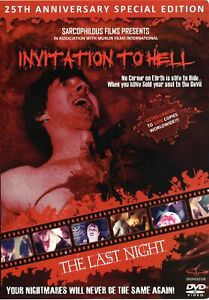Invitation To Hell + The Last Night DVD Sarcophilous Films NEW UNSEALED